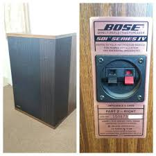 bose 501 series ii. bose 501 series iv part 2 right side only good condition ii t
