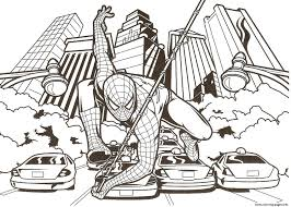 Small Picture Coloring Pages Spiderman anfukco