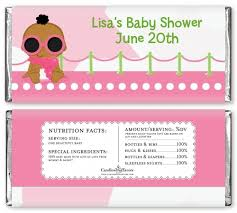 Baby Shower Hershey Bar Wrappers #4877