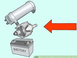 wiring diagram for a car audio capacitor wiring 6 ways to install a multiple component car audio system wikihow on wiring diagram for a