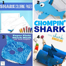 amazing baby shark crafts and