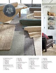 chunky jute rug pottery barn wool