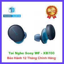 Tai Nghe Bluetooth True Wireless Sony WF-XB700 ✔️New Seal ✔️Chính Hãng  ✔️Bảo Hành 12 Tháng Toàn Quốc | Trần Du Audio - Tai nghe Bluetooth nhét Tai  Nhãn hiệu SONY