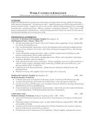 100 Lab Tech Resume Objective Cover Letter Sample Resume