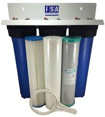 Big Water Filter Systems Triple Whole House Water Filter System 20 X 25 Filter Systems