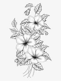Floral Sketch Designs Floral Design Cut Flowers Drawing Branch M 02csf Flower
