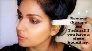 diy a quick indian stani wedding guest makeup tutorial