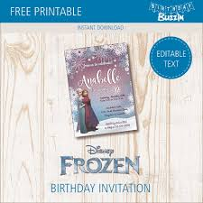 Gather guests with amazing frozen birthday invitations from zazzle. Free Printable Frozen Birthday Party Invitations Birthday Buzzin