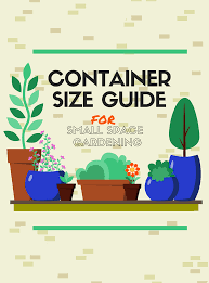 Free Guides Container Size Container Gardening Growing Herbs