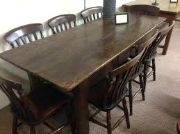 fearsome antique dark oak dining table and chairs photo concept
