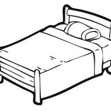 bed clipart black and white. Perfect Clipart Bed Clipart Black And White Inside O
