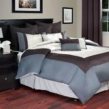 lavish home hotel comforter set ivory