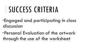 worksheet art critique worksheet worksheet study site art critique essay how to compare contrast ideas embedded hardware engineer sample resume 16 form of cover letter t crit