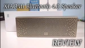 <b>Original XIAOMI</b> Bluetooth 4.0 <b>Speaker</b> 2015 REVIEW - YouTube