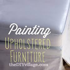 painting fabric furniturePainting Upholstered Furniture Part 1 Painting Fabric theDIYvillage