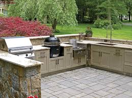 Outdoor Kitchen Sinks Modular Outdoor Kitchens With The Nice Look Kitchen Ideas