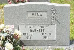 "Lila Jo ""Polly"" Barnett (1934-1996) - Find A Grave Memorial"