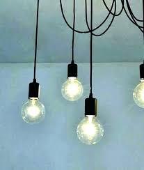 bare bulb pendant exposed bulb lamp exposed bulb pendant light bare flex multi globe lamps managers bare bulb pendant