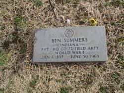 Ben Summers (1897-1963) - Find A Grave Memorial