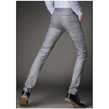 Men's Patterned Dress Pants
