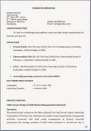 Plain Ideas How To Make A Resume For Job Application How To Make A