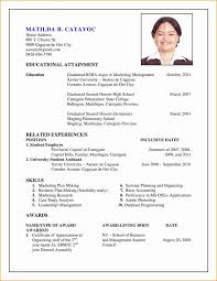 New Resume Format Lovely Unique Sensational Design Updated Of ...