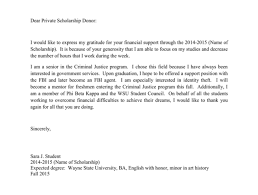 thank you note scholarship thank you letter to scholarship donor rome fontanacountryinn com