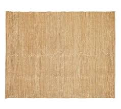 chenille jute rug natural basketweave pottery barn
