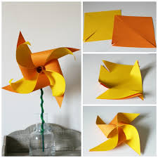 Paper Flower Pinwheels How To Make A Two Colour Daffodil Pinwheel Mum In The Madhouse