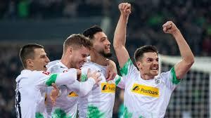 Borussia m'gladbach played against bayern münchen in 2 matches this season. Gladbach Feiert Sieg Gegen Fc Bayern Sport Sz De