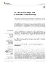 pdf in a heartbeat light and cardiovascular