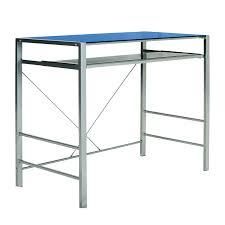 neo blue computer desk double star furniture