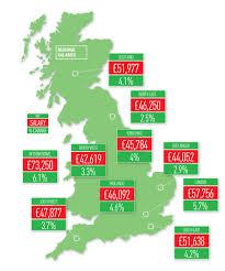 egi news article estates gazette salary survey  salary survey 2016 regions