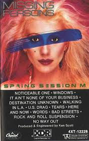Missing Persons Posters Extraordinary Missing Persons Spring Session M Cassette Album At Discogs