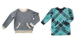 Sweatshirt Pattern Best How to sew ribbing into a Sweatshirt or Tshirt YouTube