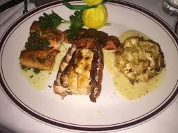 Seafood Trio at Chops Lobster Bar ...