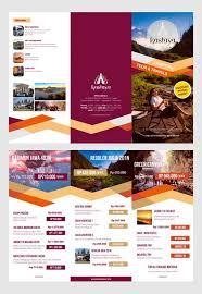 30 Creative Examples Of Tri Fold Brochure Designs Design