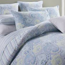 topic to blue green brown retro vintage paisley bedding twin quilt set gl drea