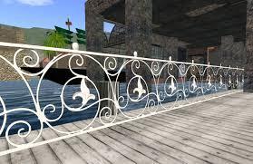 decorative railings. ornamental white wrought iron fence railing, decorative for builders 3000 railings