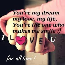 My Dream Love Quotes Best Of You're My Dream My Love LOVE QUOTES