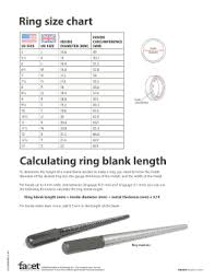 Ring Blank Sizing Chart Uk Ring Blank Size Chart Fill Online Printable Fillable