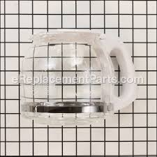 Coffee 4 cup coffee maker models tf5 vb4 ++ parts, glass carafe & lid white. Mrc Replacement Decanter 12 Cup White Pld13rb For Mr Coffee Appliances Ereplacement Parts