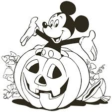 Small Picture Mickey halloween pumpkin coloring pages Coloring Pages