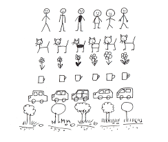 Art Therapy How To Draw A Stick Figure Comic