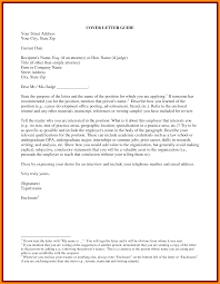 Example Of An Unsolicited Cover Letter Vancitysounds Com