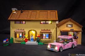 house led lighting. Light My Bricks : Simpsons House LED Lighting Kit Led