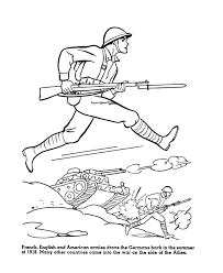 Small Picture USA Printables The Allies enter WWI coloring sheet American