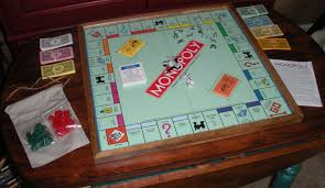 Wooden Monopoly Board Game wall art wood boards wallartideas 85