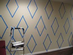 Maison Dor Paint Diamonds Harlequin Wall