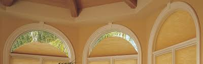 Custom Arched Window Shades  Cabinet Hardware Room  Arched Semi Circle Window Blinds